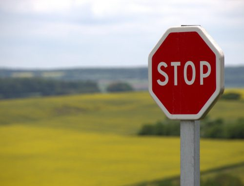 Do you need to stop and assess?  Don't say yes TOO fast!